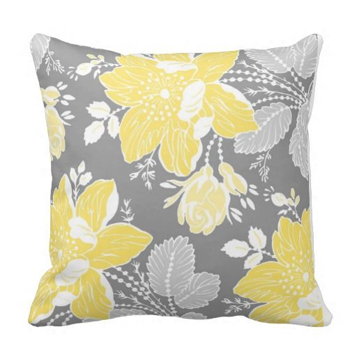 17 Best Images About Yellow And Gray Bedding On Pinterest