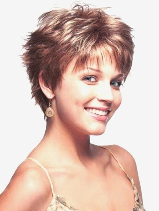 Short Sassy Haircuts For Thin Hair In Careless Funkiness