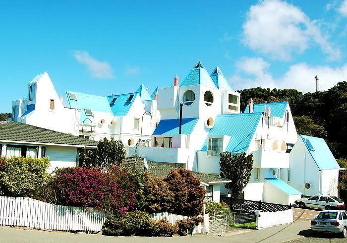 My home! Moxham Avenue apartments,Wellington, New Zealand