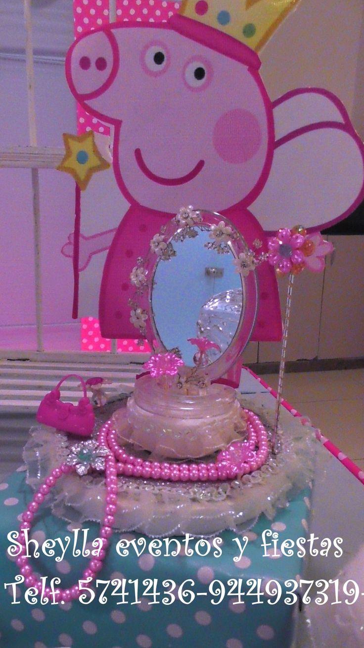 76 best decoraci n fiesta infantil peppa pig torta for Mesa de peppa pig