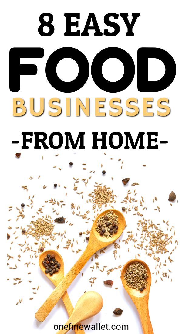 Food Business from Home – 8 Ways to Make Money from Food – Alechia Fludd