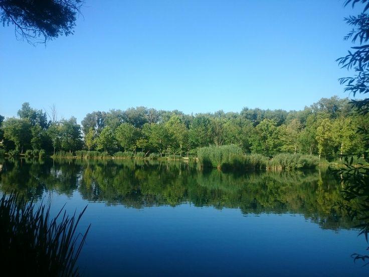 Vác, Hétkápolna,tó