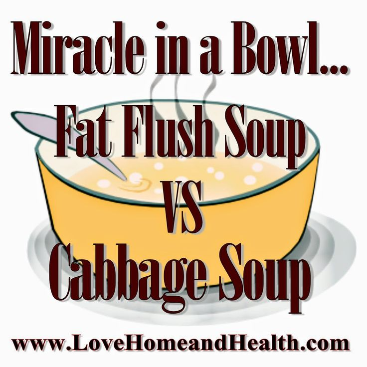 the Katydid on Love, Home and Health: Miracle In A Bowl: Soup Diets - Fat Flush Soup VS Cabbage Soup Diet