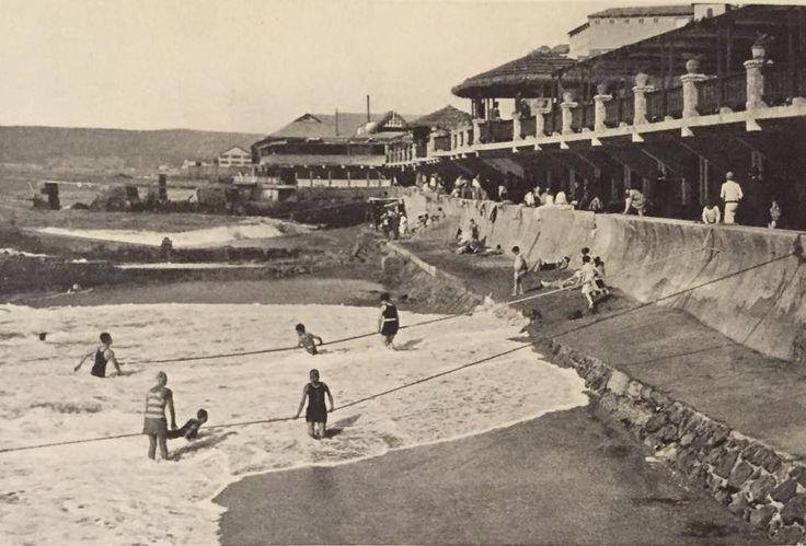 Chile, Valparaíso. Playa Balneario El Recreo, año 1928. Años después se…