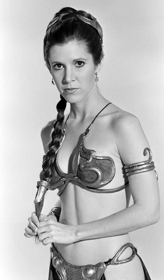 Carrie Fisher  Princess Leia Organa (Character)  Star Wars: Episode IV - A New Hope (1977)