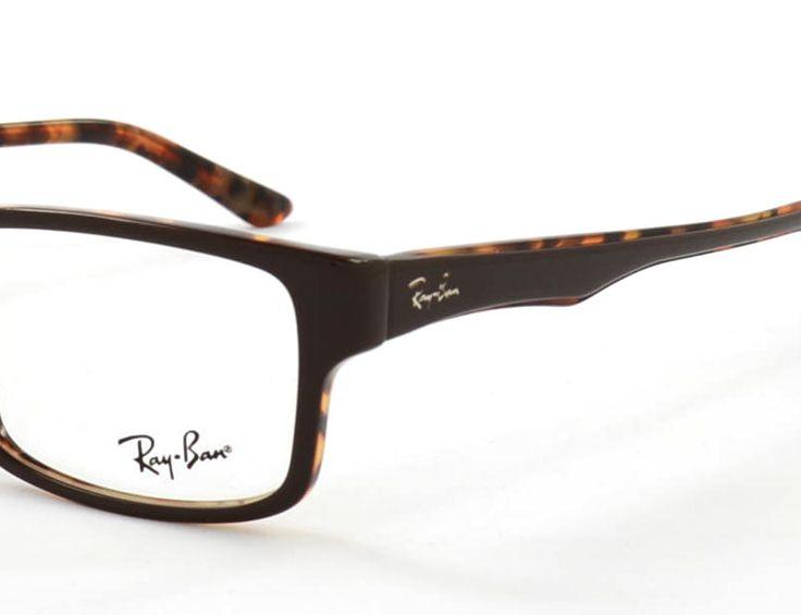 Ray Ban RB5245 5220 52 Top Brown on Havana (Brillen) Brillen online kaufen