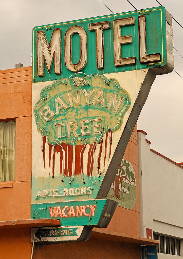 The Banyan Tree motel is still in operation on Fourth Street in downtown St. Pete.