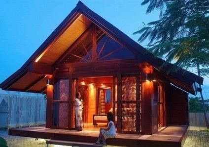 "Small Prefab Homes - Prefab Cabins: Multi Purpose Prefab Cabin Kit ""TomaHouse BaleClassic"" by TOMAHOUSE BaliClavis cabins.prefabium.com"