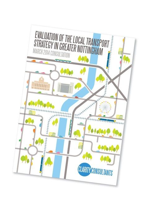 Consultation Report Front Cover and Other Parts on the Transport Sector of Nottingham City Centre by SimonB