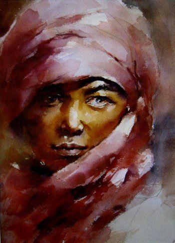 Cao Bei-An  aquarelliste chinois