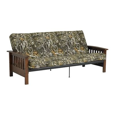 Dorel Home Furnishings Canada 2190859 Realtree Wood Arm Futon And Mattress At Lowe S Find Our Selection Of Futons The Lowest Price