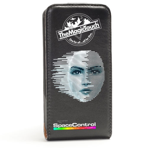 Sort-Iphone-Cover-trykket-med-CPM-transferpapir-8bit-girl http://www.themagictouch.no