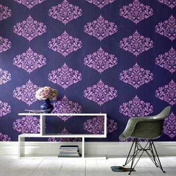 """Fountain"" by Amy Butler wallpaper #wallpaper #hgtv"