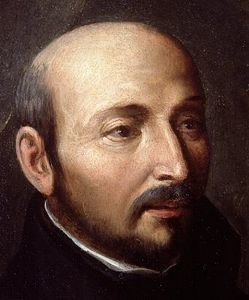 For St. Ignatius of Loyola, at least in the beginning stages, the enemy's tactic is