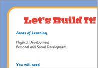 Let's Build It! – Three Little Pigs Activity