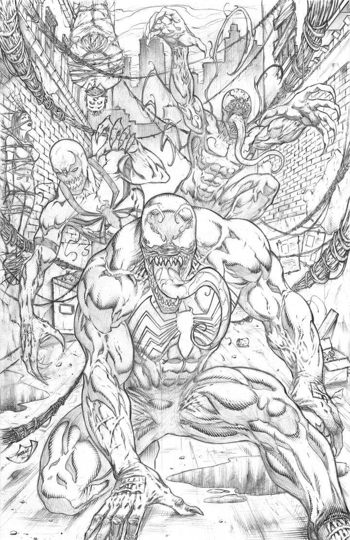 Venom Carnage Antivenom 2019 By Robert Marzullo 30 By Https Www Deviantart Com Robertmarzullo On Deviantart Traditional Artwork Art Bristol Board