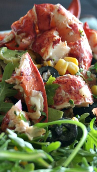 ... Is Almost Here Lobster Salad | Lobster Salad, Lobsters and Salad