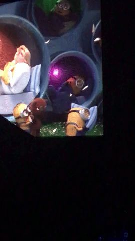 Minion on Minion Love at the end of Despicable Me 3