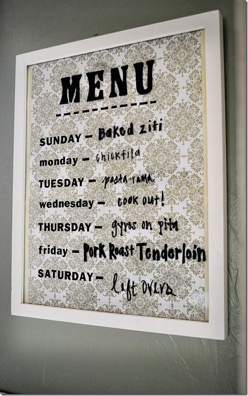 Menu Boards 4 Pretty Ways To Plan Your Meals For The Week | TheNest.com