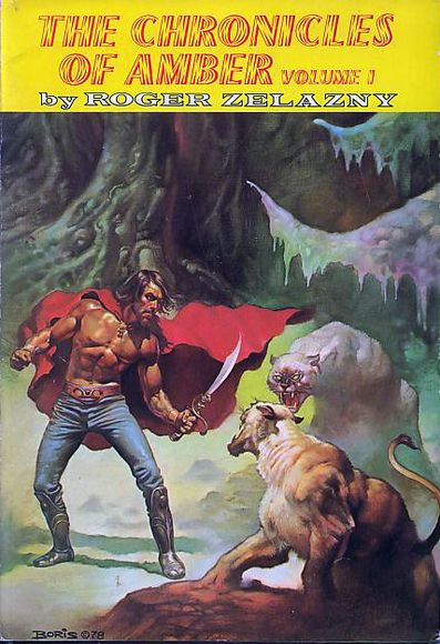 The Chronicles of Amber by Roger Zelazny. There are many books in the series. I recommend all of them.