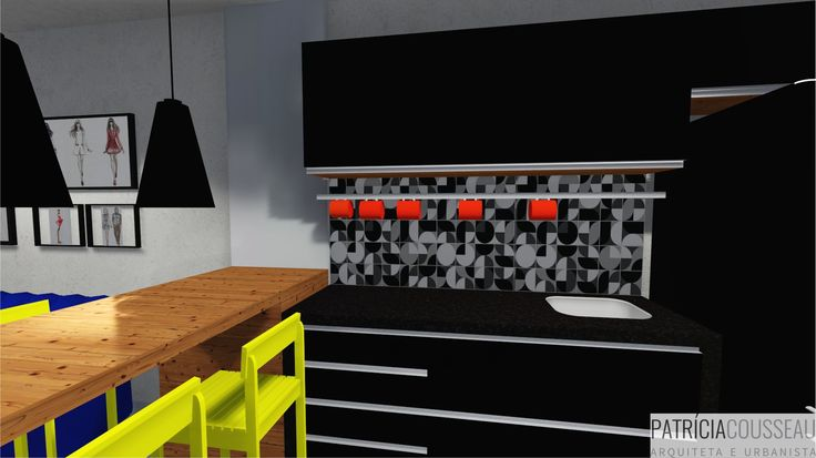 Projeto de Interiores - Residencial Flor de Nápolis - Decor Industrial