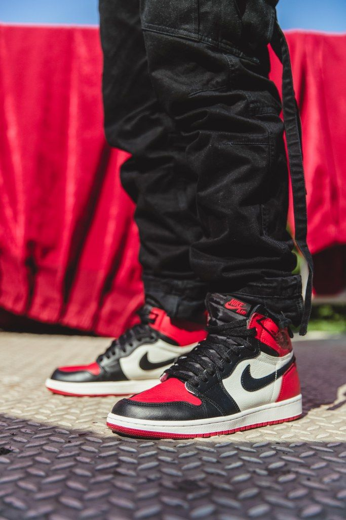 b01c3fe1411398 Air Jordan 1 Chicago Bred Toe  AllenClaudius  bowtiesandbones  sneakerhead   indian  hypebeast