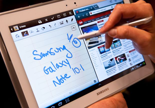 Does the Samsung Galaxy Note 10.1's Stylus help it stand out from the tablet pack? Check out our review: http://cnet.co/yyMki6