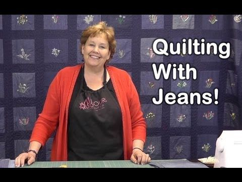 Learn How To Make A Denim Quilt Using Old Jeans! – Crafty House
