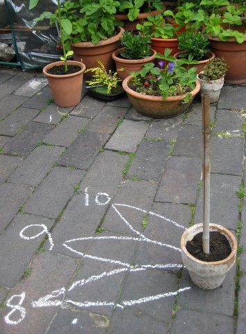 How to make a sunflower sundial - via @NurtureStore (site includes link to free e-book for more sunflower activities with math, literacy, art, etc).
