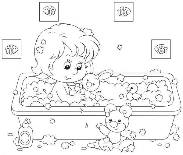 Na Mesma Serie Com 42127197 Goodbye Kindergarten Cartoon Coloring Pages Cute Coloring Pages Coloring Books