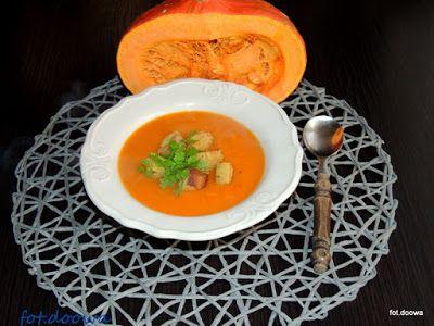Moje Małe Czarowanie: Tajska zupa dyniowa