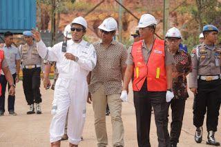 Kabaharkam POLRI Bersama Dir Polair Polda Kunjungi PT Anggrek Hitam Shipyard