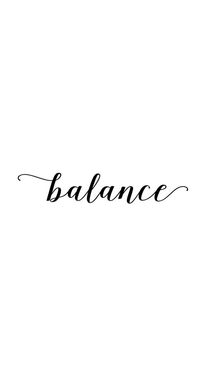 Balance background