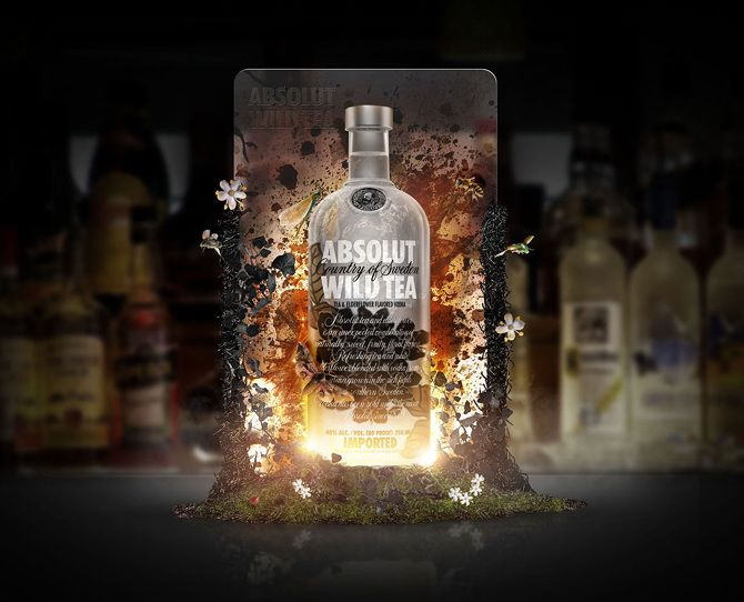 Absolut Wild Tea - Sacha5am - The work of Sacha Leon