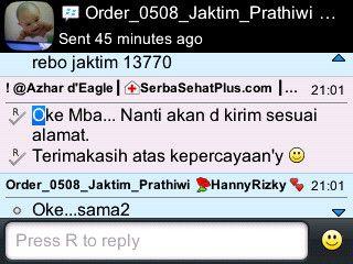 Pengiriman #PaketPeninggiBadan Exclusive 10 hari ke Mba Pratiwi di Pasar Rebo - Jakarta Timur...