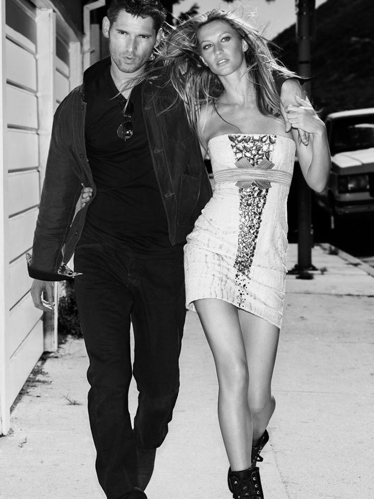 This photo was another one of my inspirations for Rafe and Gabby. --> Eric Bana and Gisele Bundchen by Mario Testino for Vogue, October 2006.