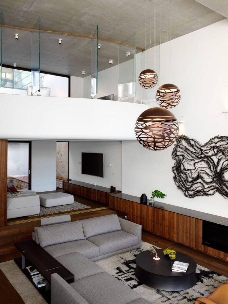 modern house interiors%0A Mosman House by Rolf Ockert  Modern LightingInterior