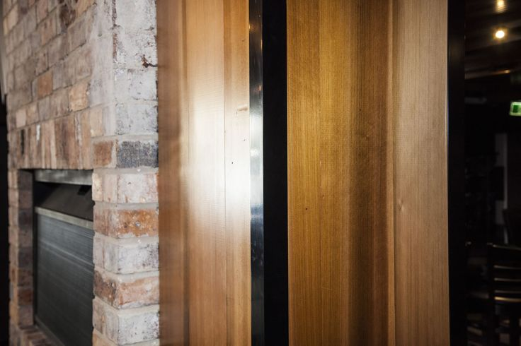 Cube Hotel in Toowoomba - Cedar Sales is excited to have contributed to convert a former club into a sophisticated modern restaurant and bar #wood #timber #ceiling #cedar #sustainable #ecofriendly #sustainable