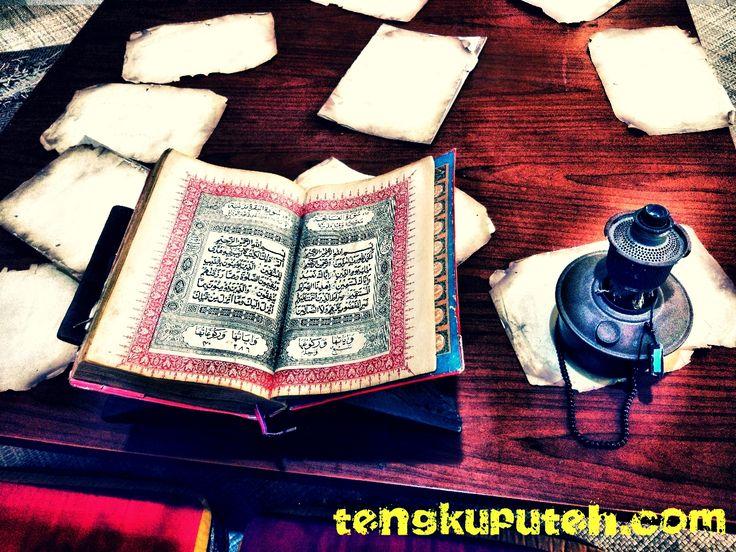 MY PRAY, A POEM WRITTEN BY HAMZAH FANSURI | Tengkuputeh