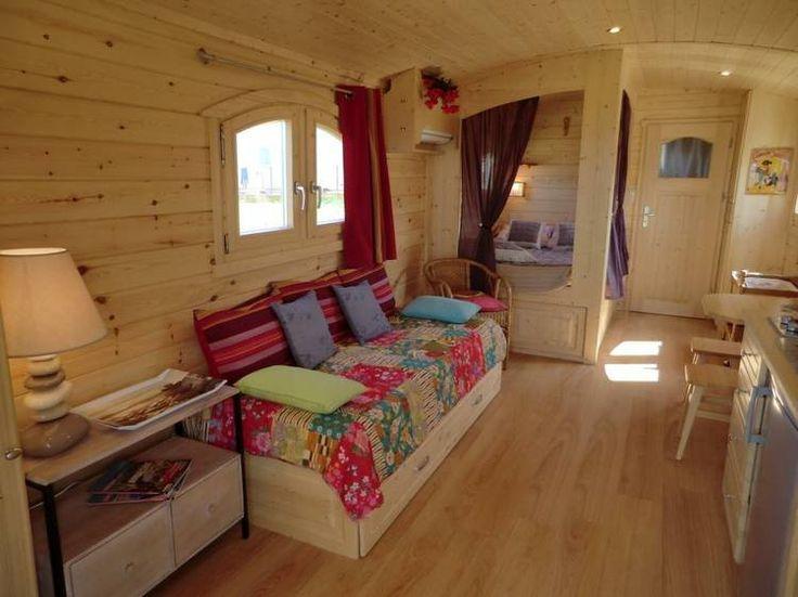 Dormire in una roulotte a Grospierres, Ardèche