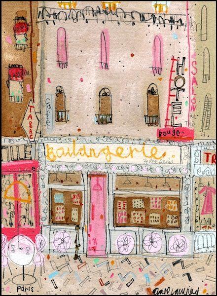 Boulangerie - Paris Clare Caulfield