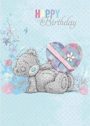 ┌iiiii┐                                                              Tatty Teddy Happy Birthday
