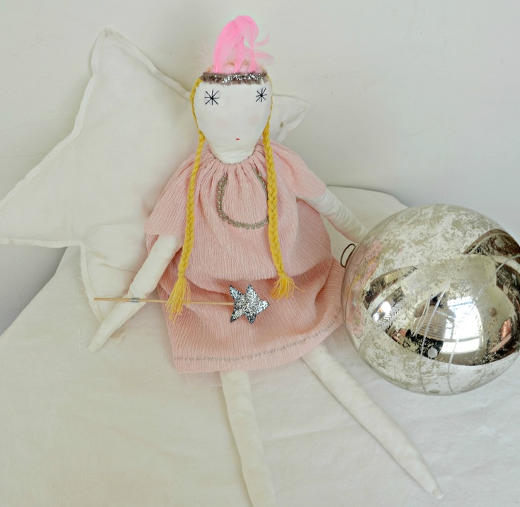 rag doll. fairy pink by minina loves