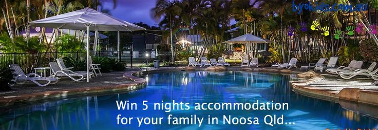 Win a Noosa holiday -  BYOkids have 5 nights family accommodation in a 3 bedroom Noosa Sunshine Coast apartment to giveaway .. enter now https://gleam.io/fb/BxrWk