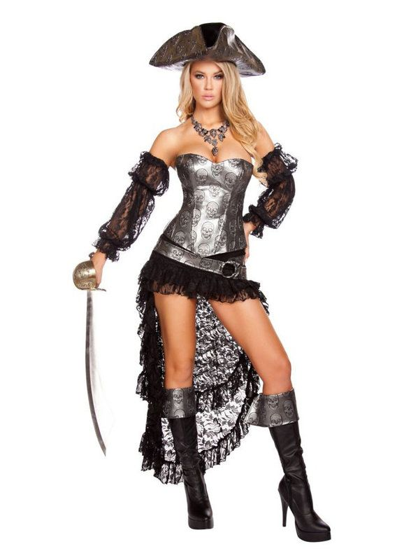 fucking cool womens sexy deadly pirate captain costume - Pirate Halloween Costumes Women