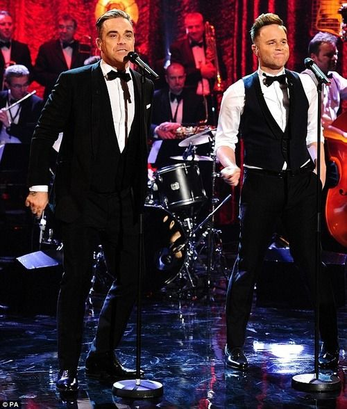 Robbie Williams & Olly Murs