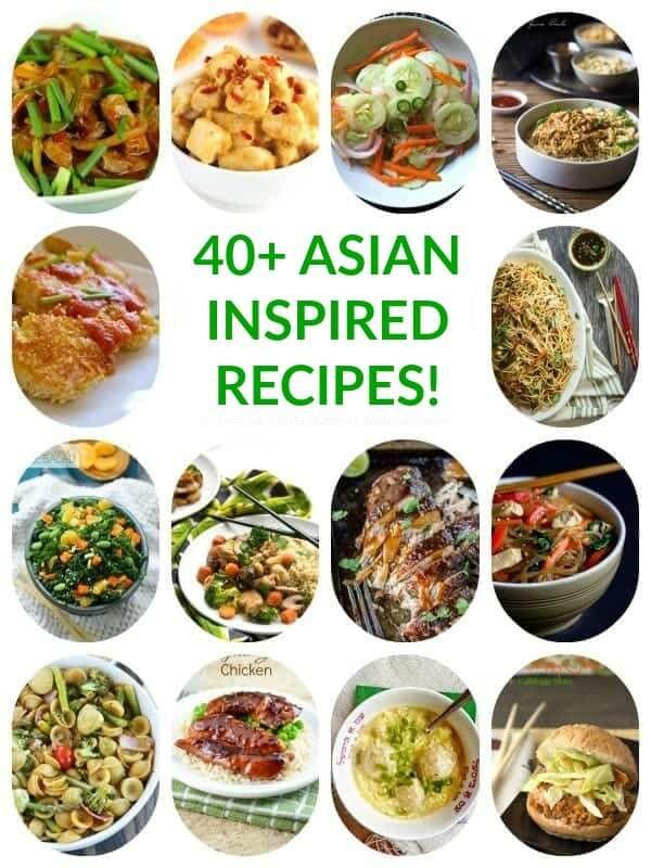 40 Healthy Asian Inspired Recipes The Lemon Bowl Healthy Asian Recipes Asian Inspired Recipes Asian Recipes