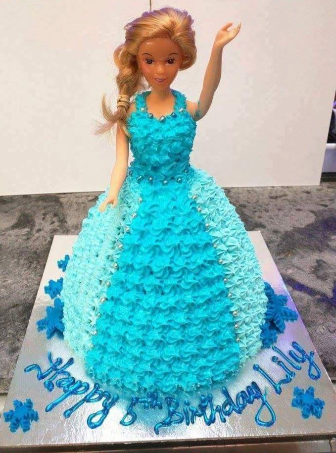 disney princess themed cold rock ice cream cake by cold rock Aspley
