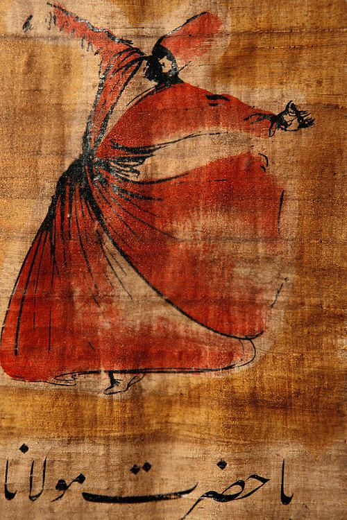"""""""A Beautiful Painting Of A Whirling"""""""