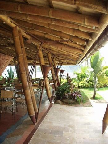 """ara construir uma casa grande, seria necessário derrubar uma pequena floresta com 130 árvores que demoraram mais de 30 anos para se desenvolver. Com o bambu a história é diferente: como a planta brota novamente após o corte, a medida de que a casa vai sendo construída uma nova planta está nascendo. O bambu cresce em média 23cm por dia. Ao final da construção se tem uma nova árvore com 20 metros cada. """"O bambu se adapta bem em áreas tropicais e aqui o crescimento é muito rápido, em média 23…"""